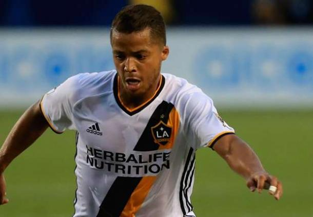 Giovani Dos Santos enjoyed his best game in a Galaxy's uniform on Friday against the Houston Dynamo at BBVA Compass Stadium. Photo provided by Getty Images.