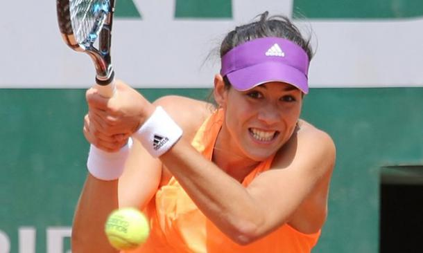 Muguruza looks set to reach the second week in Paris (pic | Guardian)