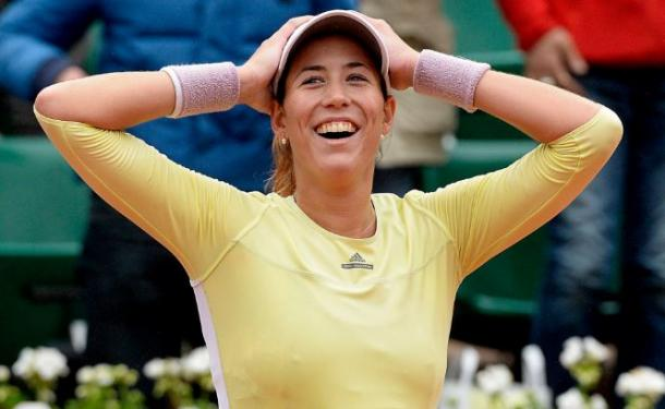 Muguruza reacts to reaching the Roland Garros final for the first teim (pic |AS)