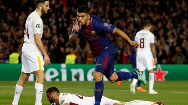Suárez fechou a conta | Foto: Getty Images