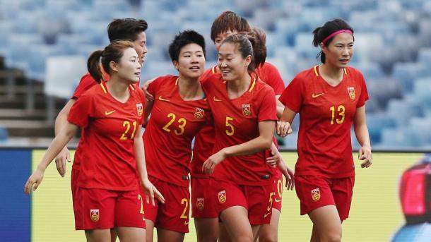 Equipo de China / Foto: FIFA