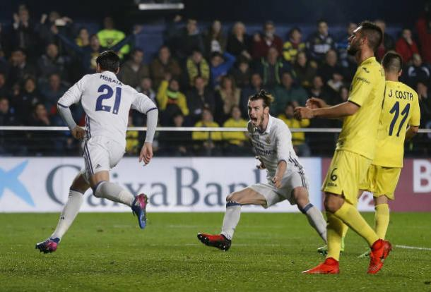 Morata marcou o da virada merengue | Foto: Angel Martínez/Getty Images