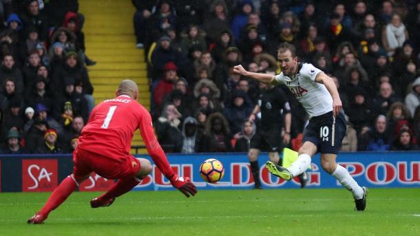 La prima rete di Kane, www.premierleague.com