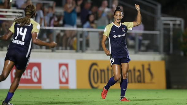 Lynn Williams will look to keep the goals coming | Source: nwslsoccer.com
