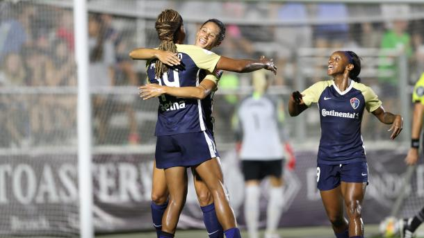 The Courage frontline has been productive all season long | Source: nwslsoccer.com