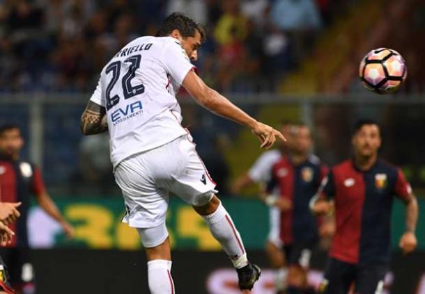 Borriello in gol contro il Genoa | Goal.com