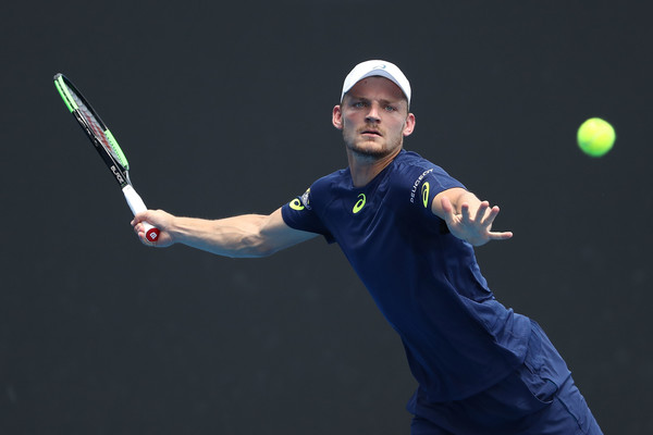 Image result for images of david goffin at the 2017 australian open