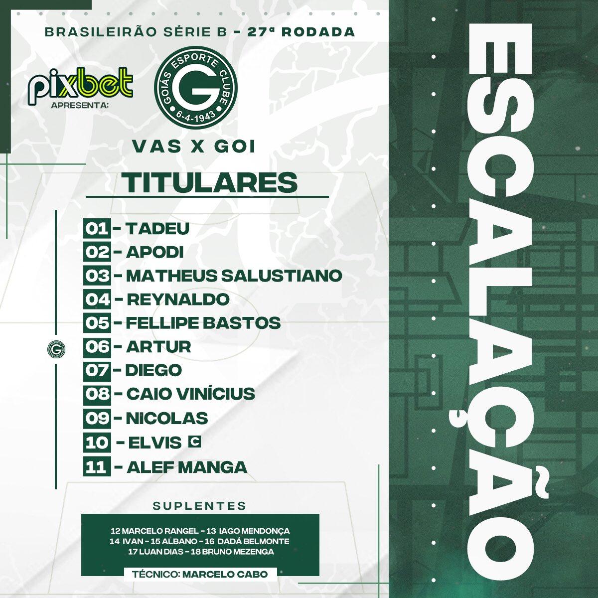 Foto: Divulgação/Goiás EC