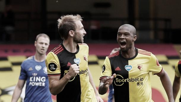 Gol de Dawson./ Foto: Premier League