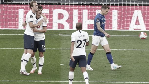 Celebración del Tottenham./ Foto: Premier League