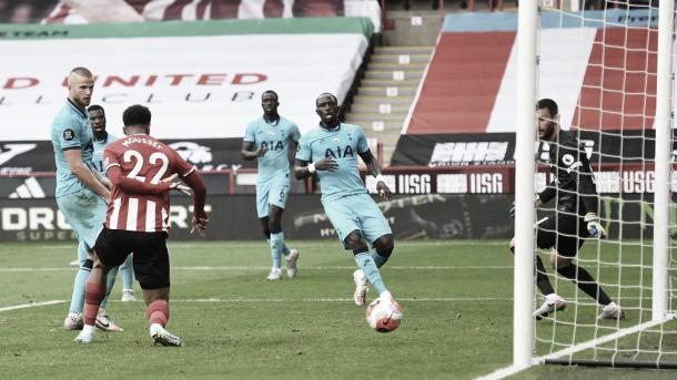 Gol de Mousset./ Foto: Premier League