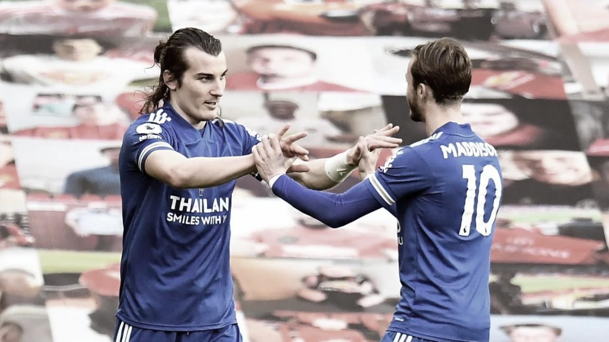 Soyuncu marcaría el gol de la victoria./ Foto: Premier League
