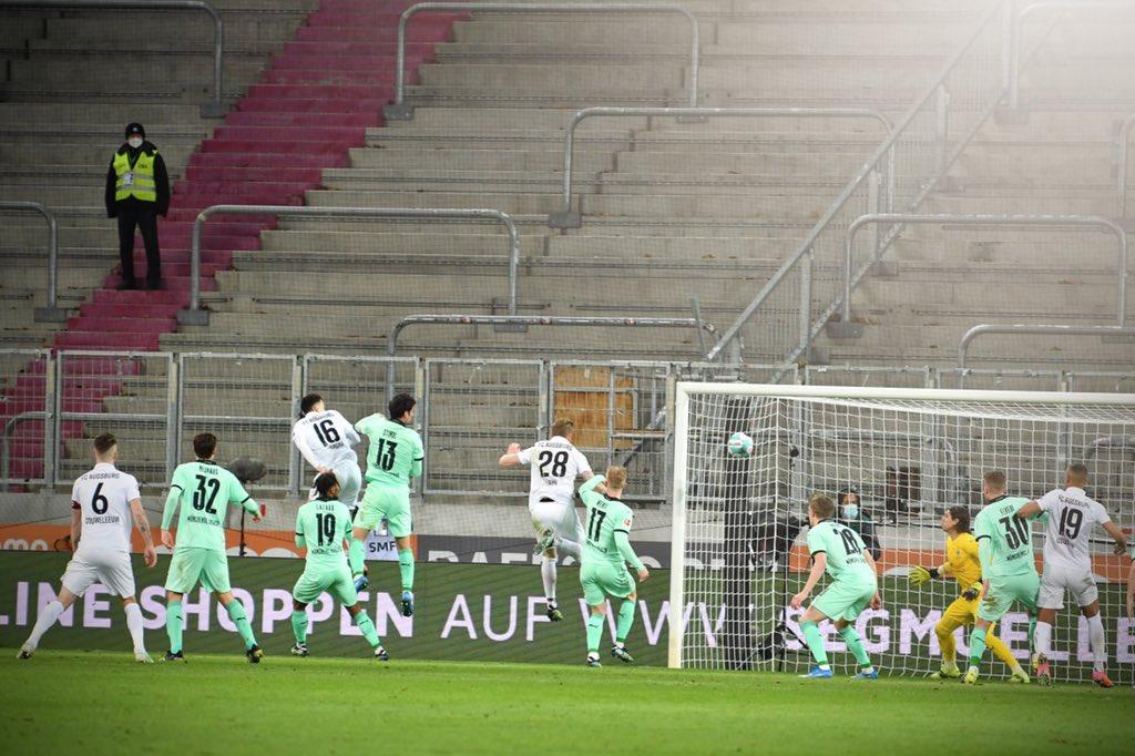 Ruben Vargas en acción, previo a su gol / Foto: @FCA_World