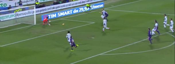 Il diagonale di Kalinic per l'1-0 | Premium Sport