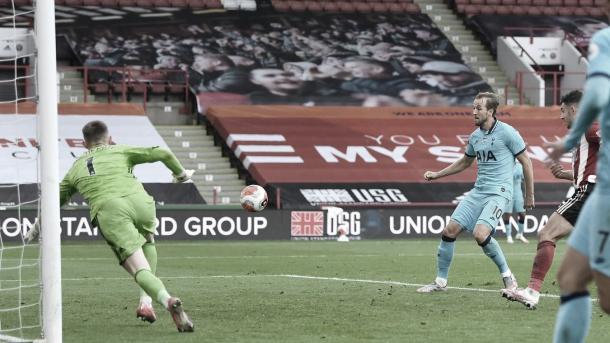 Gol de Harry Kane./ Foto: Premier League