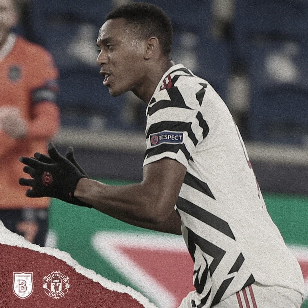 Martial recortó diferencias./ Foto: Manchester United