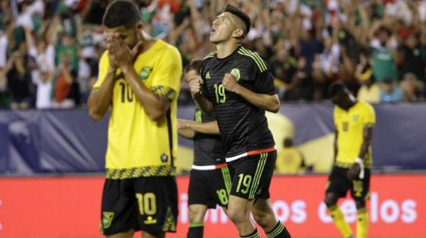The memories of losing 3-1 in the 2015 Gold Cup final to Mexico is still fresh in the minds of the Jamaican players. Photo provided by AP.