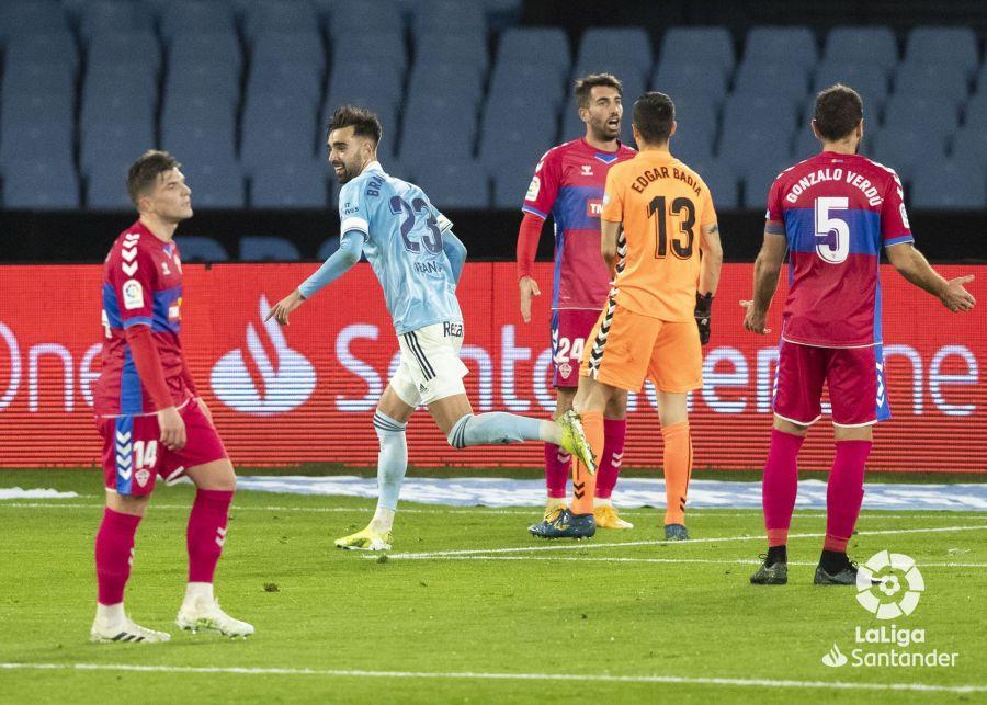 Brais Méndez marca el 2-0 | Imagen: LaLiga