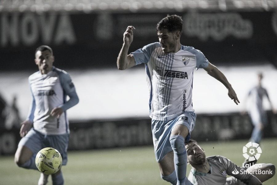Jozabed marcando el gol del empate. / Foto: LaLiga.