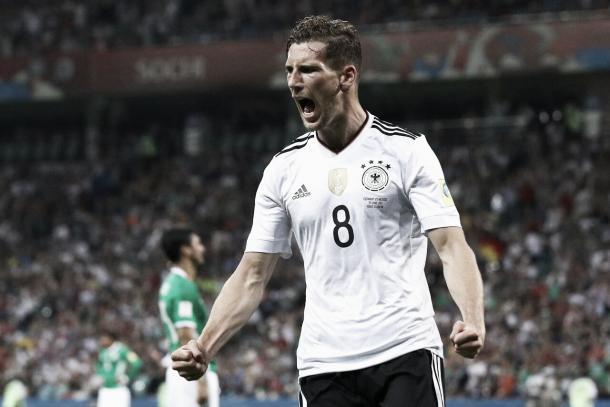 Leon Goretzka, internacional alemán | Foto: Twitter @FCBayernES