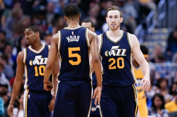 This is the new generation of the Utah Jazz and they are young and scary. Photo: Isaiah J. Downing/USA TODAY Sports