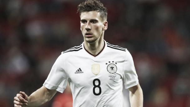 Goretzka foi um dos destaques da Seleção alemã na Copa das Confederações (Foto: Sky Sports)