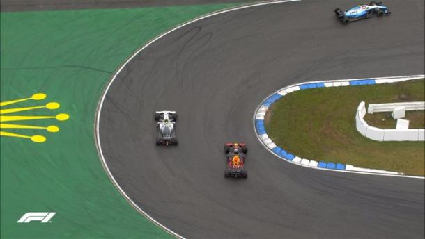 Verstappen all'attacco di Bottas | twitter - @F1