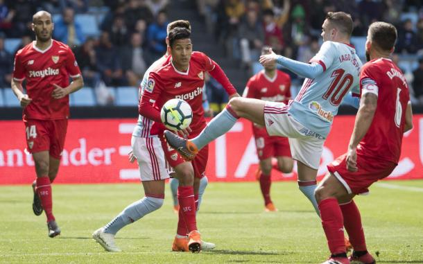 RC Celta de Vigo vs Sevilla FC en la temporada 2017/18