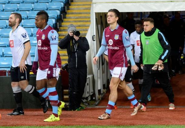 Grealish featured against Derby County U-21's on Monday (photo: avfc.com)