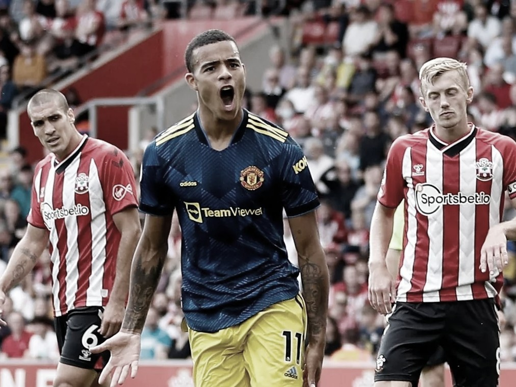 Greenwood igualó para el United   Foto: Premier League