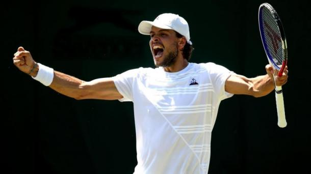 Barrere showed signs why he has broken into the top 100 for the first time
