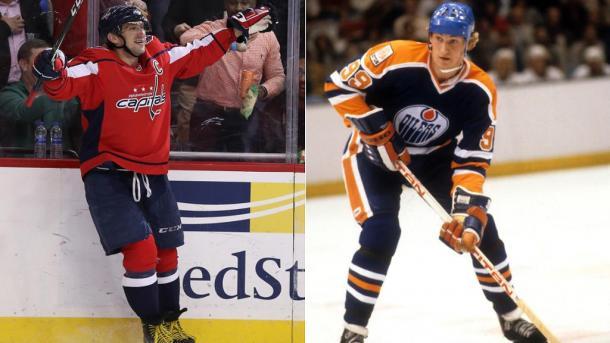Ovechkin y Gretzky los mejores goleadores en sus respectivas épocas | Foto: NHL.com