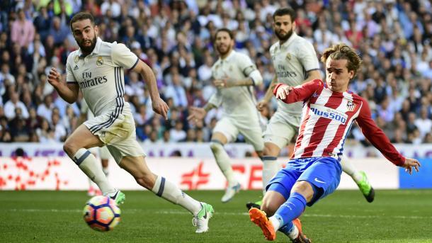 Griezmann beffa il Real nel derby al Bernabeu | www.goal.com