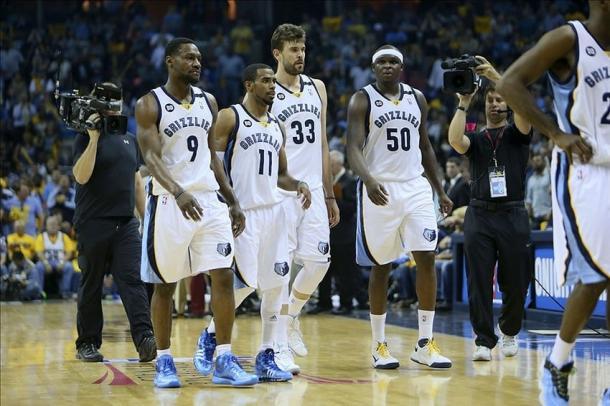 Tony Allen, Mike Conley, Marc Gasol y Zach Randolph l Foto: Memphis Grizzlies