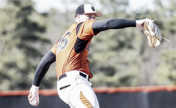 Jason Groome's potential seems to be limitless. (Photo: Joe Zedalis and Matthew Stanmyre/ NJ Advance Media for NJ.com)