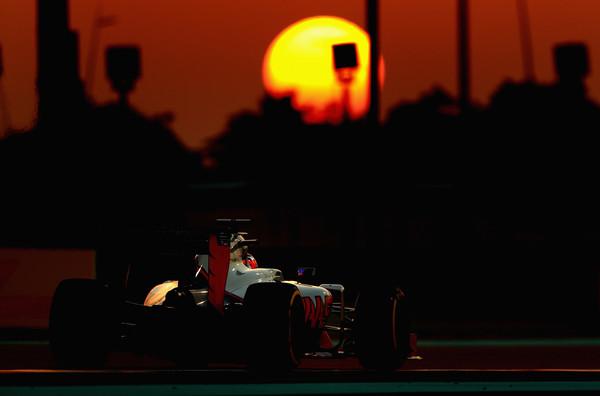 Romain Grosjean en Abu Dhabi | Imagen: Getty Images