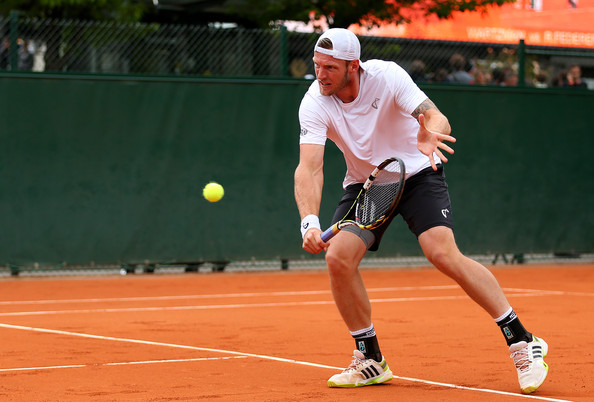 His record suggests that Groth is not at home on a clay court (Photo: Getty Images/Clive Brunskill)