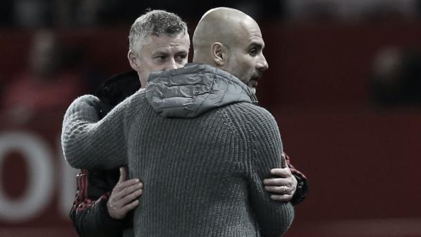 Guardiola y Solskjaer vuelven a enfrentarse   Foto: Premier League
