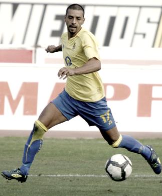 Guayre jugando en Las Palmas | Foto: www.datuopinion.com