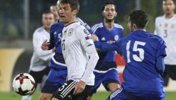 Thomas Mueller in azione | Fonte: twitter.com/GuerinSportivo