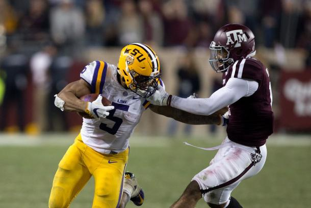 Injuries set back the high expectations Guice set for himself in 2016 | Bob Levey, Getty Images