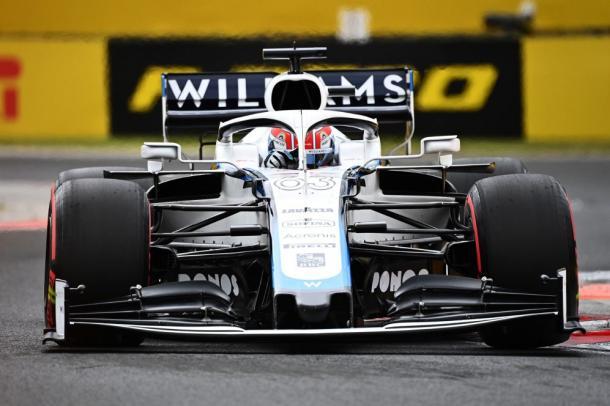 Russell en el GP de Hungría. Foto: F1