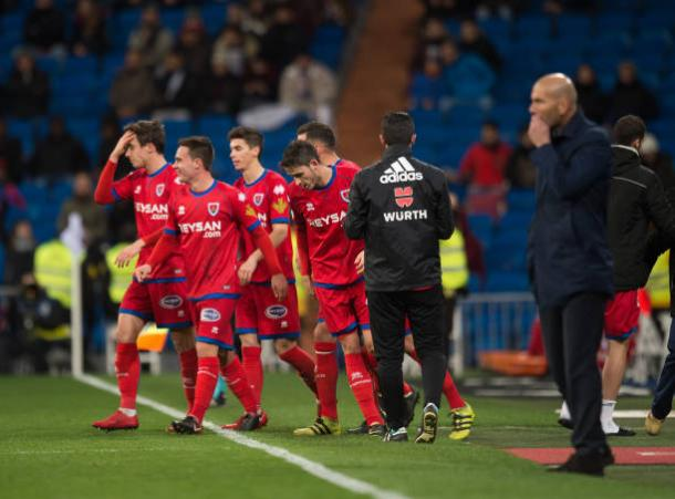 Doblete de Guillermo garantiu empate do Numancia no Bernabéu | Foto: Denis Doyle/Getty Images