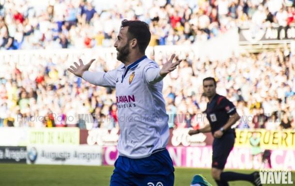 Gutián ha crecido mucho como futbolista tras su paso por Zaragoza y Valladolid // Imagen: Andrea Royo - VAVEL