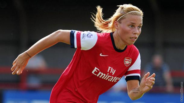Flaherty spent seven years at Arsenal and is now looking to enjoy similar success at Chelsea. (Photo: Arsenal FC