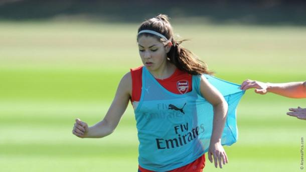 Humphrey comes to the Belles looking for more playing time to aid her development. | Photo: Arsenal Ladies FC