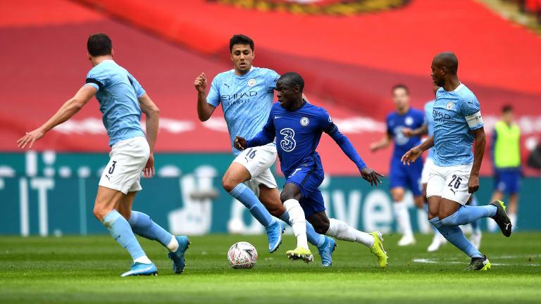Rodri y Fernandinho se disputarán un puesto en el once / FOTO: ManCity