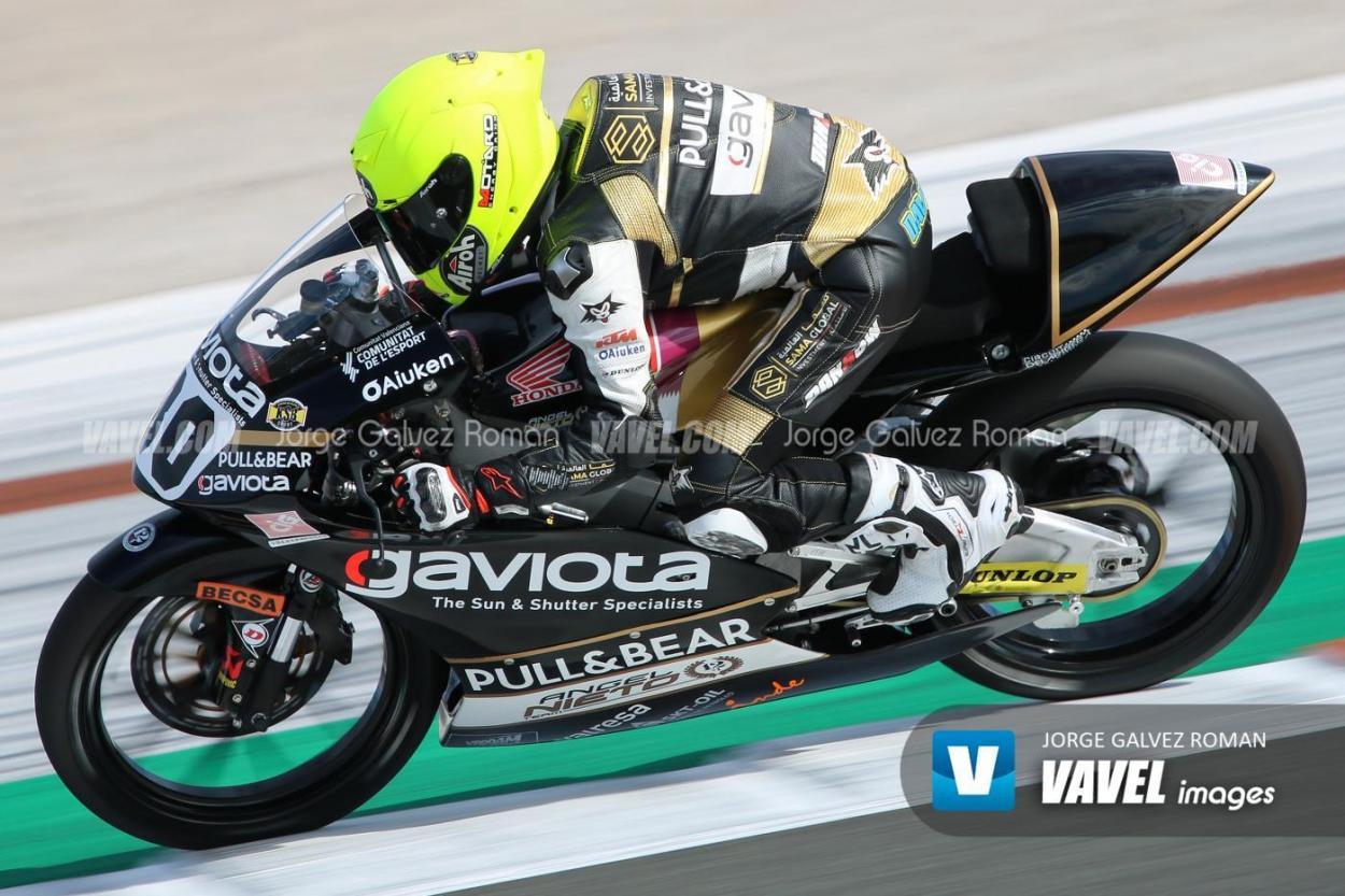 Alonso cambia la Honda de la ETC por la  Moto3. Foto: Jorge Gálvez   Vavel España.