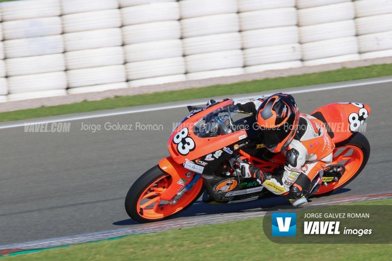 Álvaro Carpe sigue bajo el MT Foundation77 una temporada más. Foto: Jorge Gálvez   Vavel España.