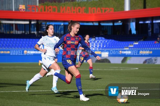 Barça y Deportivo ya se vieron las caras en la Primera Iberdrola. FOTO: Noelia Déniz